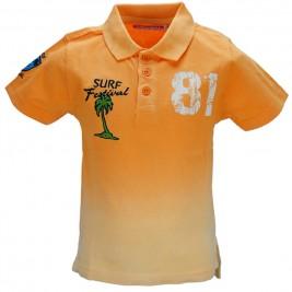 Παιδική Μπλούζα Energiers 12-217106-5 Ροδακινί Αγόρι