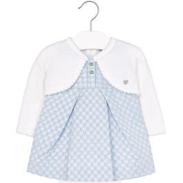 Βρεφικό Φόρεμα Mayoral 2933 Σιέλ Κορίτσι