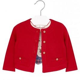 Βρεφικό Σετ Μπλούζα Mayoral 2361 Κόκκινο Κορίτσι