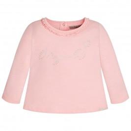 Βρεφική Μπλούζα Mayoral 116 Ροζ Κορίτσι
