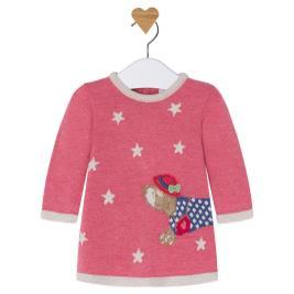 Βρεφικό Φόρεμα Mayoral 2851 Ροζ Κορίτσι