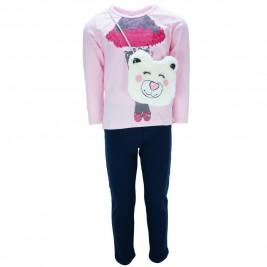Παιδικό Σετ-Σύνολο Joyce 7424 Ροζ Κορίτσι