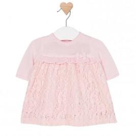Βρεφικό Φόρεμα Mayoral 2801 Ροζ Κορίτσι