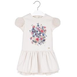 Παιδικό Φόρεμα Mayoral 4949 Εκρού Κορίτσι
