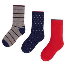 Παιδικές Κάλτσες Σετ Mayoral 10300 Ροδί Αγόρι