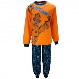 Παιδική Πυτζάμα Dreams 17806 Πορτοκαλί Αγόρι