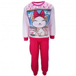 Παιδική Πυτζάμα Dreams 17708 Εμπριμέ Φούξια Κορίτσι