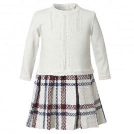 Παιδικό Φόρεμα Boutique 45-117371-7 Εκρού Κορίτσι