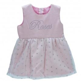 Βρεφικό Φόρεμα NCollege 18-8754 Ροζ Κορίτσι