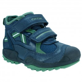 Παιδικό Μποτάκι Geox J741VB.B Μπλε Πράσινο