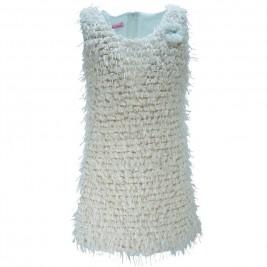 Παιδικό Φόρεμα NCollege 18-768 Εκρού Κορίτσι