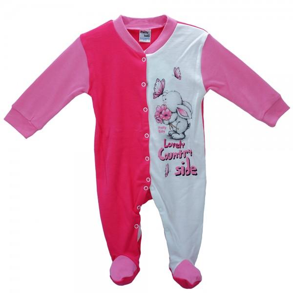Βρεφική Πυτζάμα Pretty Baby 35713 Ροζ Λευκό Κορίτσι cac02f99712