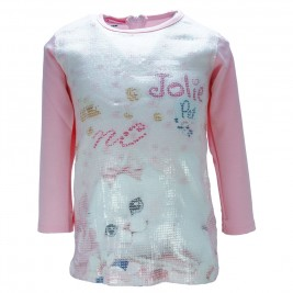 Βρεφικό Φόρεμα NCollege 18-8750 Ροζ Κορίτσι
