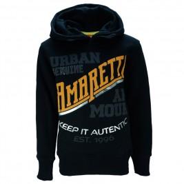 Παιδική Μπλούζα Amaretto A2749 Μαύρο Αγόρι