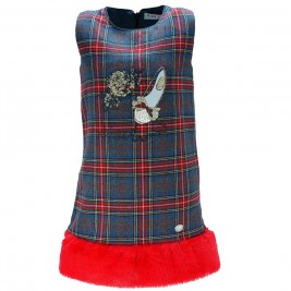 Παιδικό Σετ-Φόρεμα Εβίτα 175228 Κόκκινο