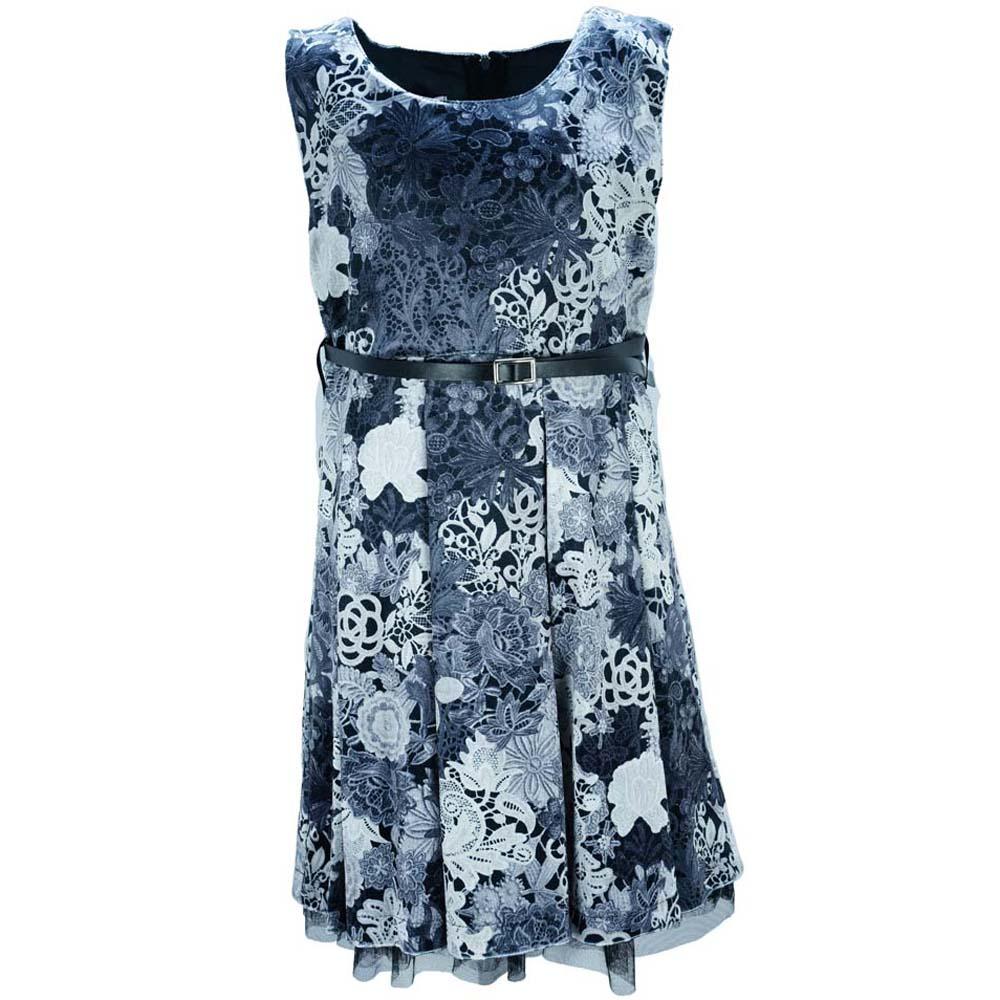 6e39e90f9e6 Παιδικό Φόρεμα NCollege 18-7070 Μαύρο Κορίτσι