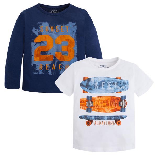 27fc852d1807 Παιδικό Σετ Μπλούζες Mayoral 3080 Μπλε Αγόρι. Παιδικά Ρούχα ...