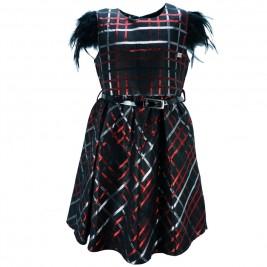 Παιδικό Φόρεμα Εβίτα 175093 Μαύρο Κορίτσι