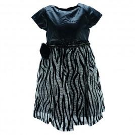 Παιδικό Φόρεμα Εβίτα 175033 Μαύρο Κορίτσι