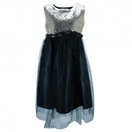 Παιδικό Φόρεμα Εβίτα 175187 Χρυσό Μαύρο Κορίτσι