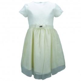 Παιδικό Φόρεμα Εβίτα 175032 Εκρού Κορίτσι