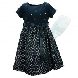 Παιδικό Φόρεμα Εβίτα 175037 Μαύρο Κορίτσι