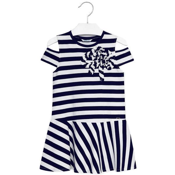 f65b38a3d6da Παιδικό Φόρεμα Mayoral 28-06940-010 Navy Κορίτσι