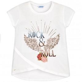 Παιδική Μπλούζα Mayoral 6022-065 Εκρού Κορίτσι