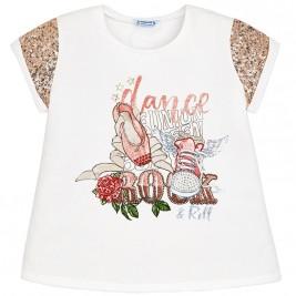 Παιδική Μπλούζα Mayoral 6024-065 Εκρού Κορίτσι
