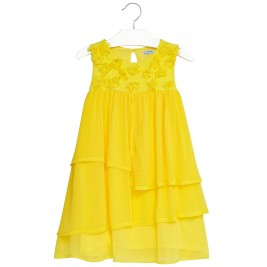 Παιδικό Φόρεμα Mayoral 6956-052 Κίτρινο Κορίτσι
