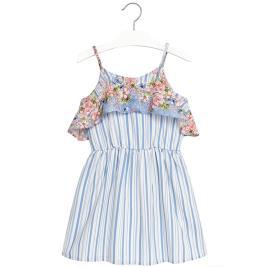 Παιδικό Φόρεμα Mayoral 6952-019 Μπλε Κορίτσι