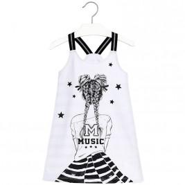 Παιδικό Φόρεμα Mayoral 6968-046 Μαύρο Κορίτσι