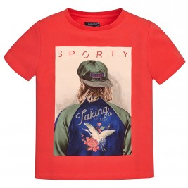 Παιδική Μπλούζα Mayoral 6098-021 Κοραλί Αγόρι