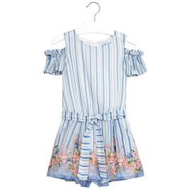 Παιδική Ολόσωμη Φόρμα Mayoral 6802-019 Γαλάζιο Κορίτσι