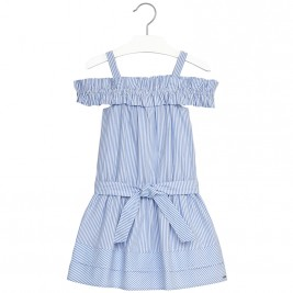 Παιδικό Φόρεμα Mayoral 6960-019 Σιέλ Κορίτσι