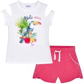 Παιδικό Σετ-Σύνολο Mayoral 6220-036 Φούξια Κορίτσι