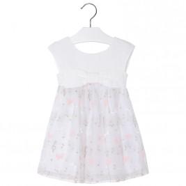 Παιδικό Φόρεμα Mayoral 3916-031 Εκρού Κορίτσι