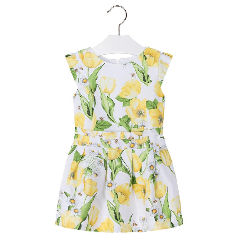 1fb21b8fe0c Παιδικό Φόρεμα Mayoral 3934-057 Κίτρινο Κορίτσι ...