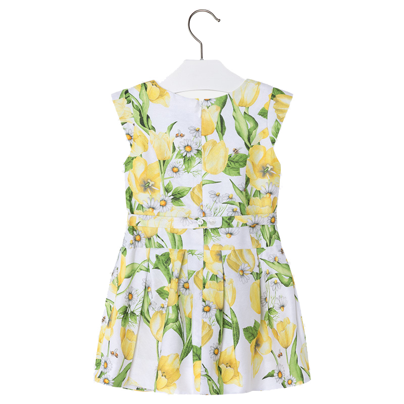 e50f9476b7d ... Παιδικό Φόρεμα Mayoral 3934-057 Κίτρινο Κορίτσι ...