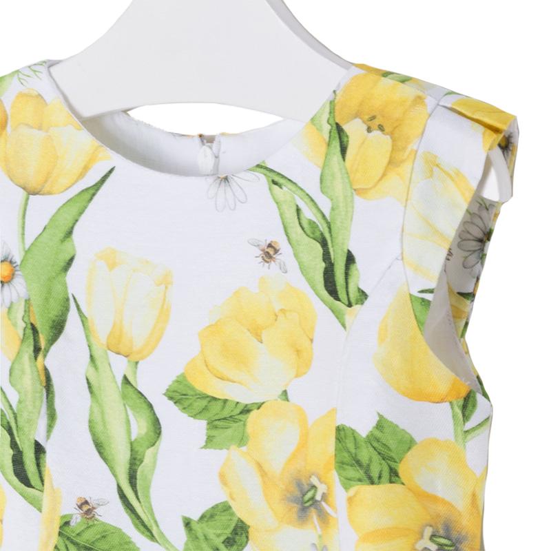 66f163f9fbb ... Παιδικό Φόρεμα Mayoral 3934-057 Κίτρινο Κορίτσι