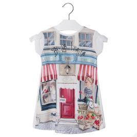 Παιδικό Φόρεμα Mayoral 3968-084 Εκρού Κορίτσι