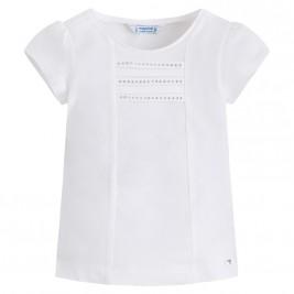 Παιδική Μπλούζα Mayoral 174-061 Λευκό Κορίτσι