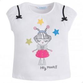 Παιδική Μπλούζα Mayoral 3020-033 Λευκό Κορίτσι