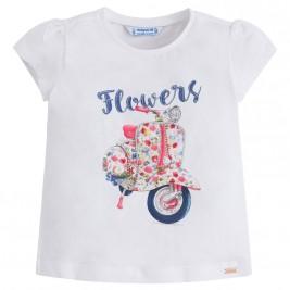 Παιδική Μπλούζα Mayoral 3026-086 Λευκό Κορίτσι