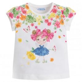 Παιδική Μπλούζα Mayoral 3016-057 Εμπριμέ Κορίτσι