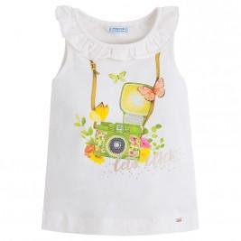 Παιδική Μπλούζα Mayoral 3048-027 Λαχανί Κορίτσι