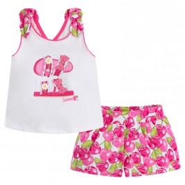 Παιδικό Σετ-Σύνολο Mayoral 3228-031 Φούξια Κορίτσι