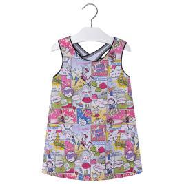 Παιδικό Φόρεμα Mayoral 3998-002 Εμπριμέ Κορίτσι