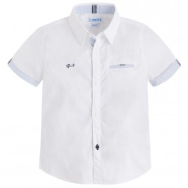 Παιδικό Πουκάμισο Mayoral 3150-066 Λευκό Αγόρι