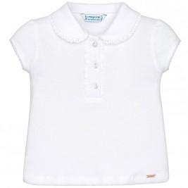 Βρεφική Μπλούζα Mayoral 114-019 Λευκό Κορίτσι